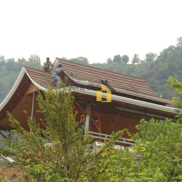 مراحل نصب سقف شیروانی